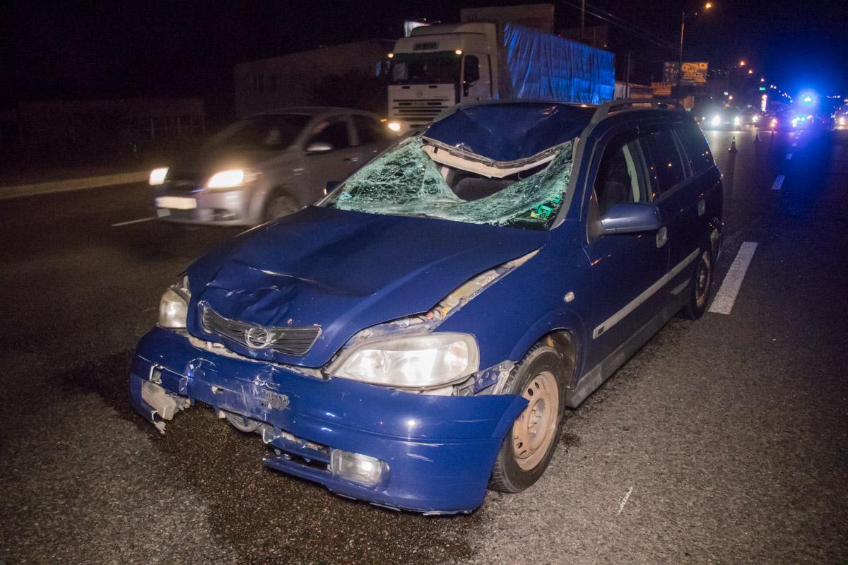 Жуткое смертельное ДТП на Большой Окружной: мужчина пытался перебежать дорогу