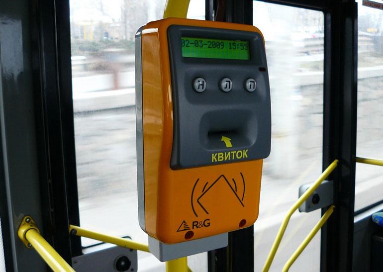 Электронный билет в транспорте Киева заработает с 1 ноября