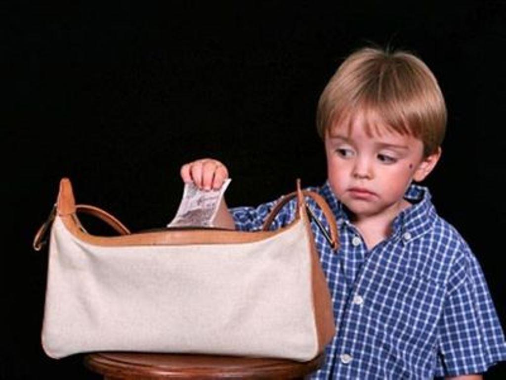 Маленький мальчик обворовал односельчанку под Киевом