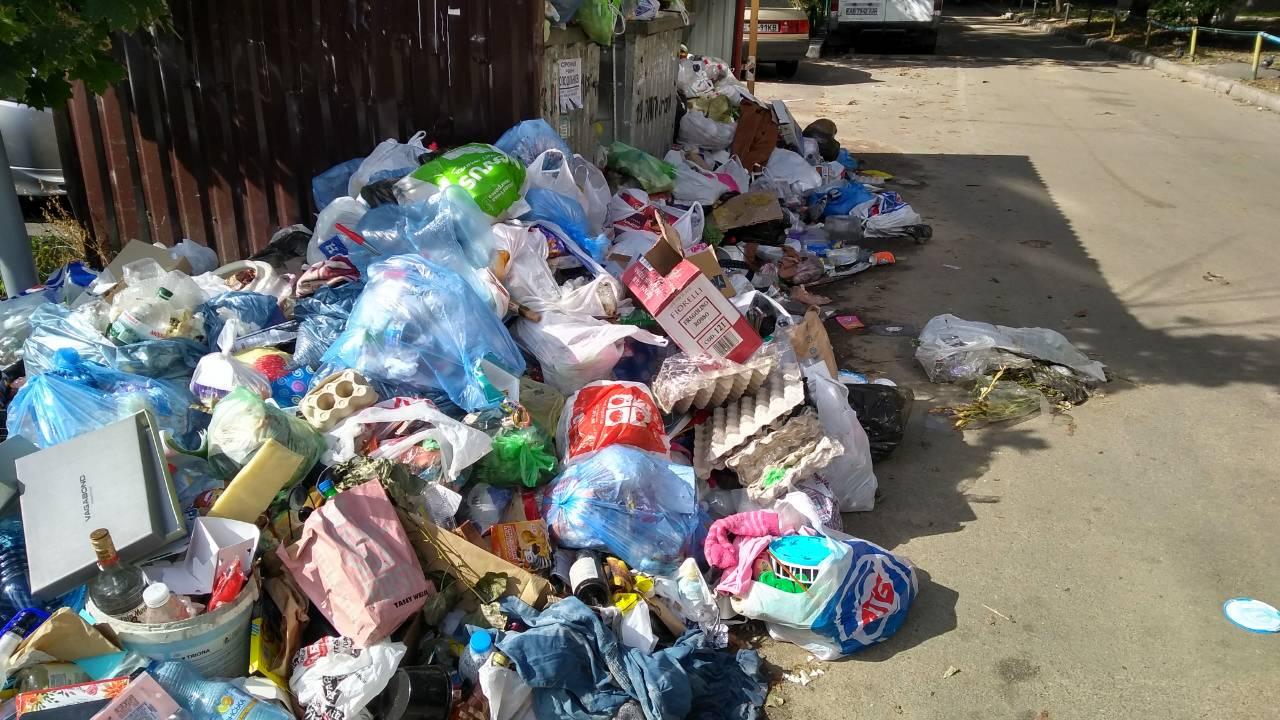 Киевляне сами виноваты в создании мусорных свалок во дворах