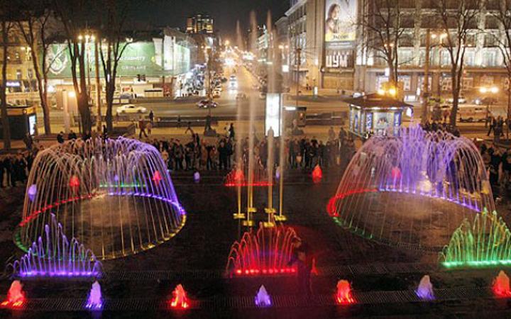 Киевские фонтаны законсервировали до следующего сезона