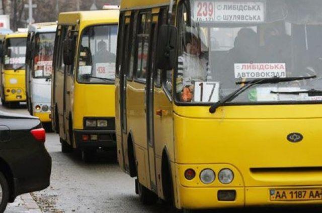 В Киевсовете предлагают убрать все маршрутки, заменив их автобусами