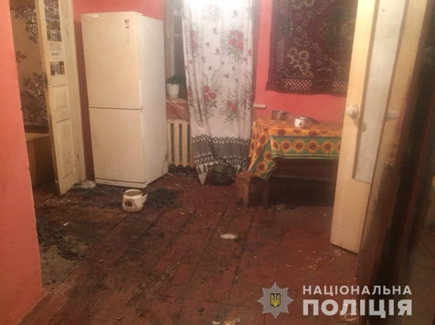 На Киевщине разбойники подожгли мужчину, выбивая из него признание в преступлении