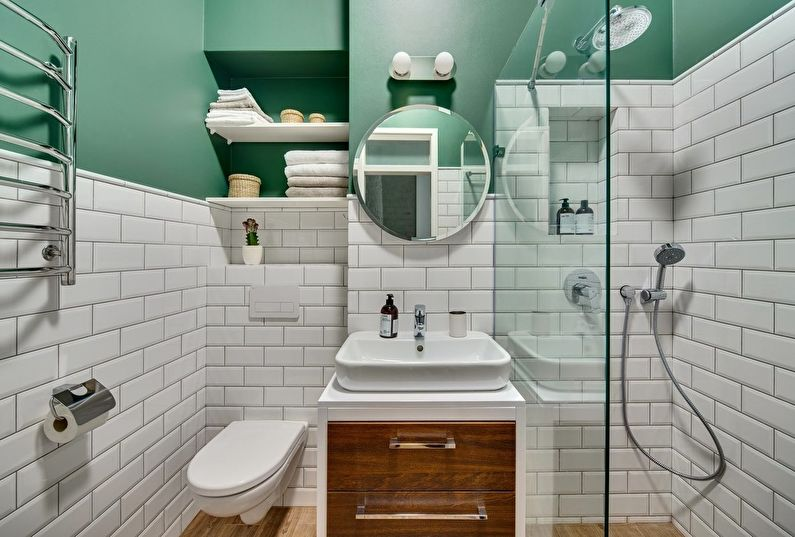 Три главных элемента для обустройства ванной комнаты