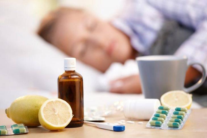 В Киеве более 7 000 детей заболели гриппом и ОРВИ