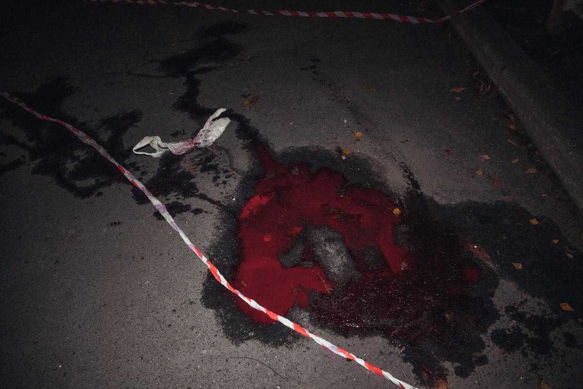 На Борщаговке конфликт мужчин закончился убийством
