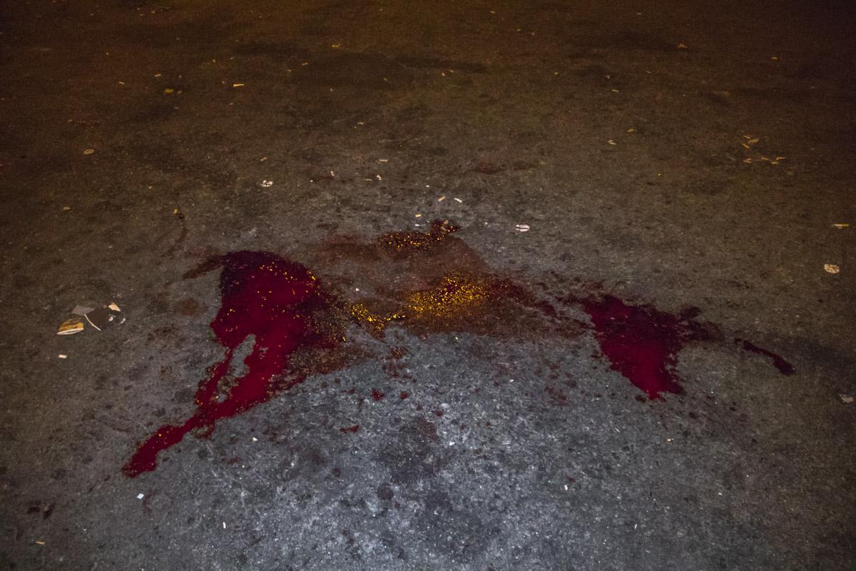 Возле парка Киото кавказцы сильно избили зачинщика конфликта