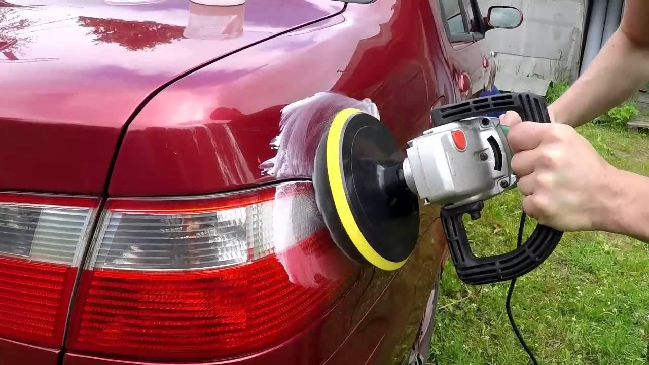 Какими дисками выполняется полировка авто своими руками?