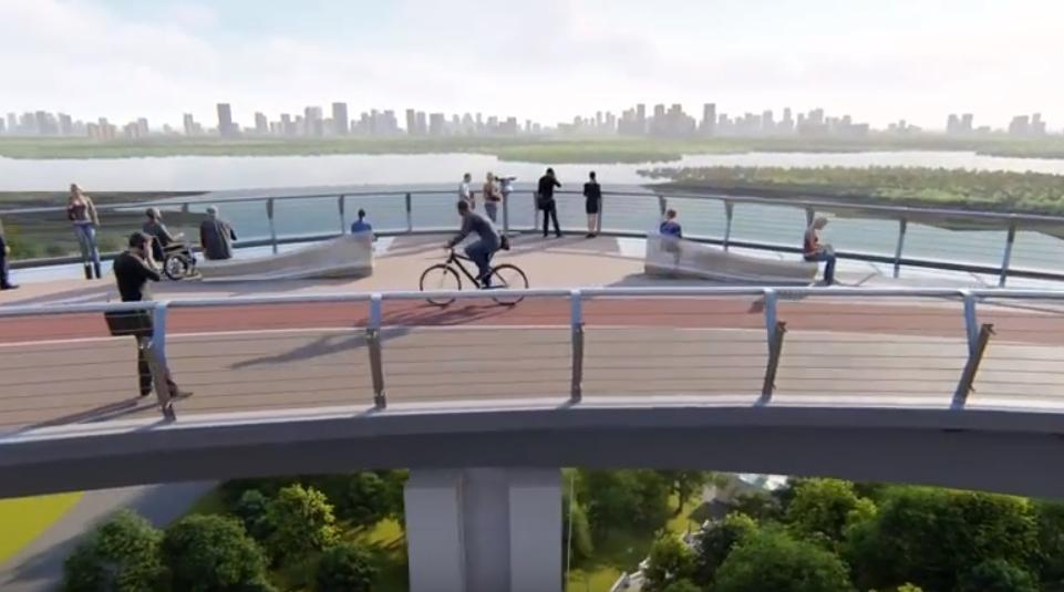 Стало известно, когда в Киеве построят новый туристический мост