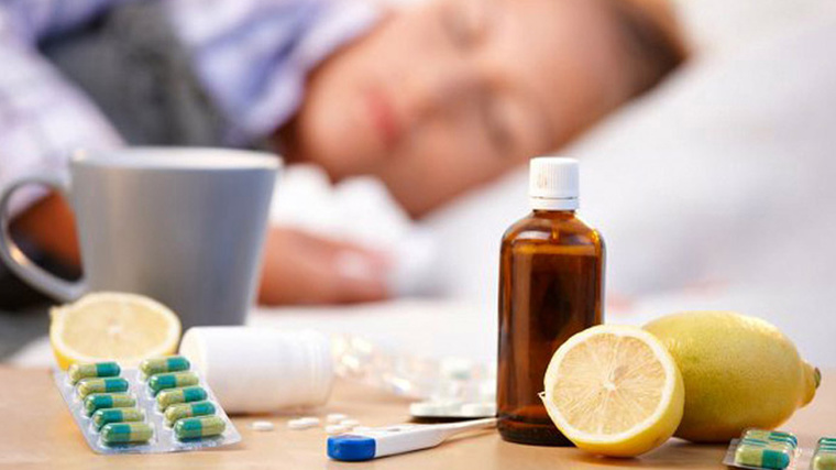 В Киеве 11 739 человек заболели гриппом и ОРВИ