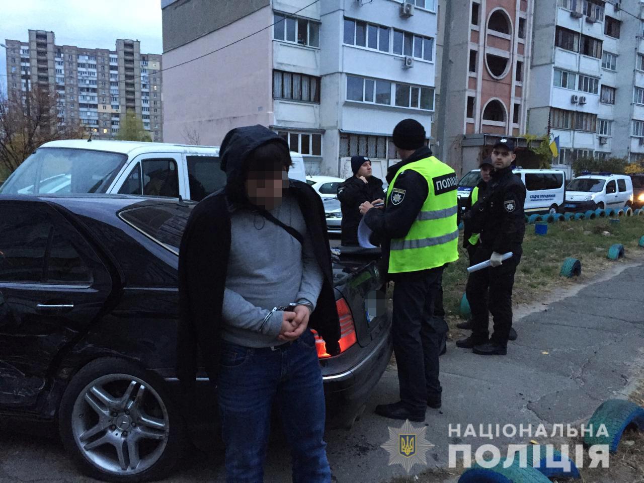 В Киеве задержали очень опытных и дерзких домушников