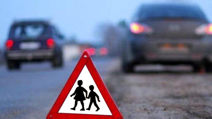 На Киевщине 10-летняя девочка получила тяжелые травмы, попав под авто