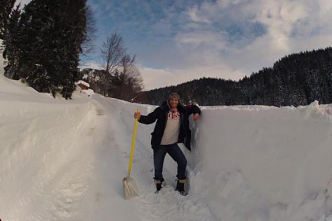 """Виталий Кличко про снег: """"Нам нельзя расслабляться"""""""