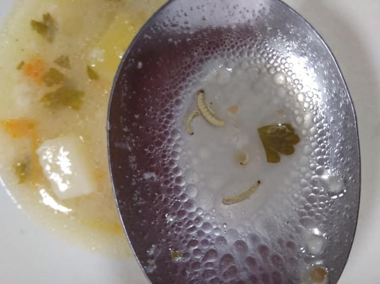 В школе, где учеников накормили червями, говорят, что это фейк