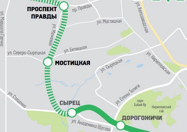 В метрополитене рассказали, как будут строиться станции на Виноградарь
