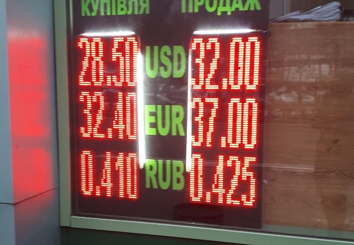 В Киеве резко подскочили курсы доллара и евро