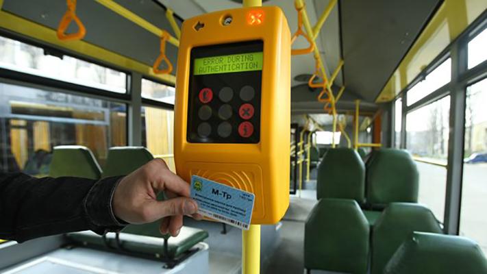 Столичные маршрутчики отказываются от электронного билета