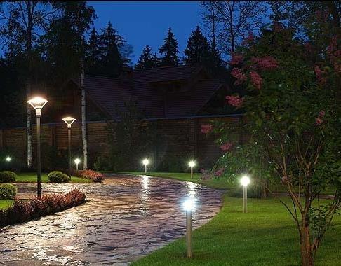 Какие бывают парковые светильники?