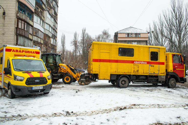 Жителям трех районов Киева восстановили отопление