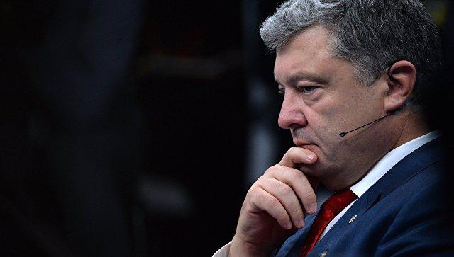 Порошенко получил поддержку США в вопросе введения военного положения