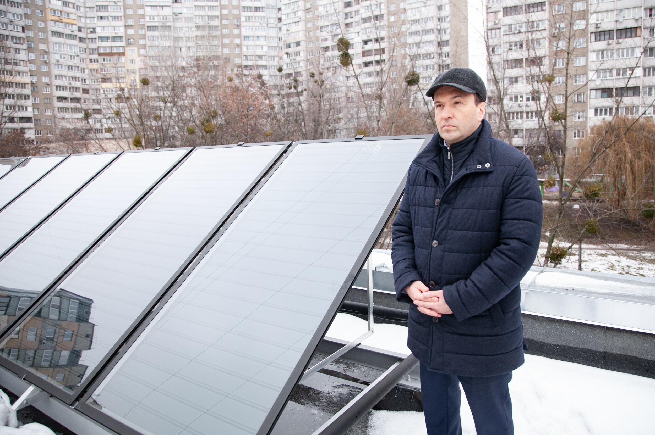 В детских садиках Киева на солнце будут греть холодную воду
