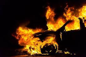 """На ВДНХ в Киеве мужчина сгорел в автомобиле """"ГАЗель"""""""