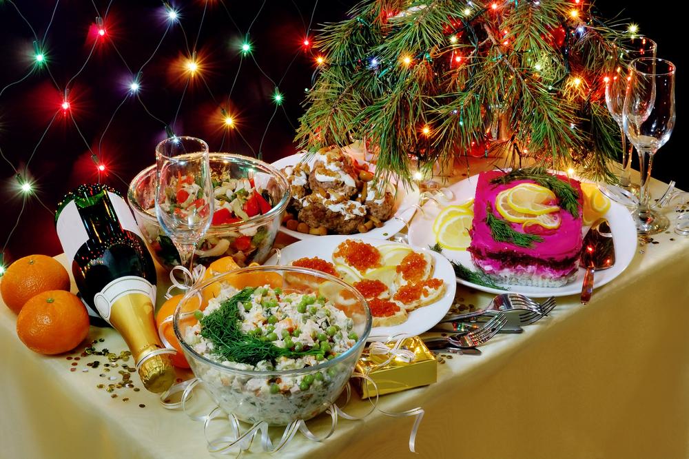 Заказ готовой еды на Новый год