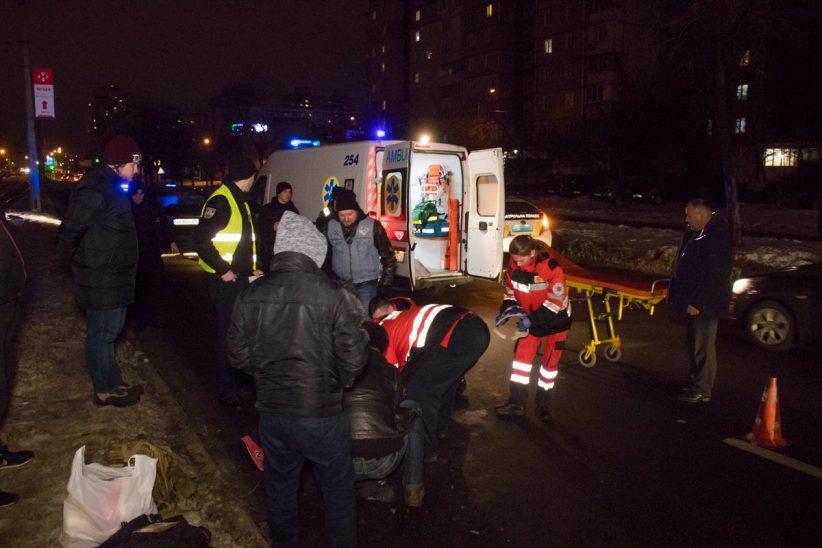 Киевлянин погиб под колесами элитного авто с пьяным водителем