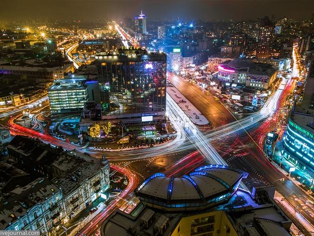 Город Киев сделают ярким за более чем полмиллиарда гривен
