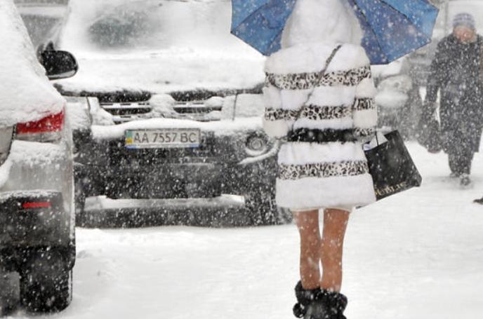 В Киеве ожидается первый серьезный снегопад в 2019 году