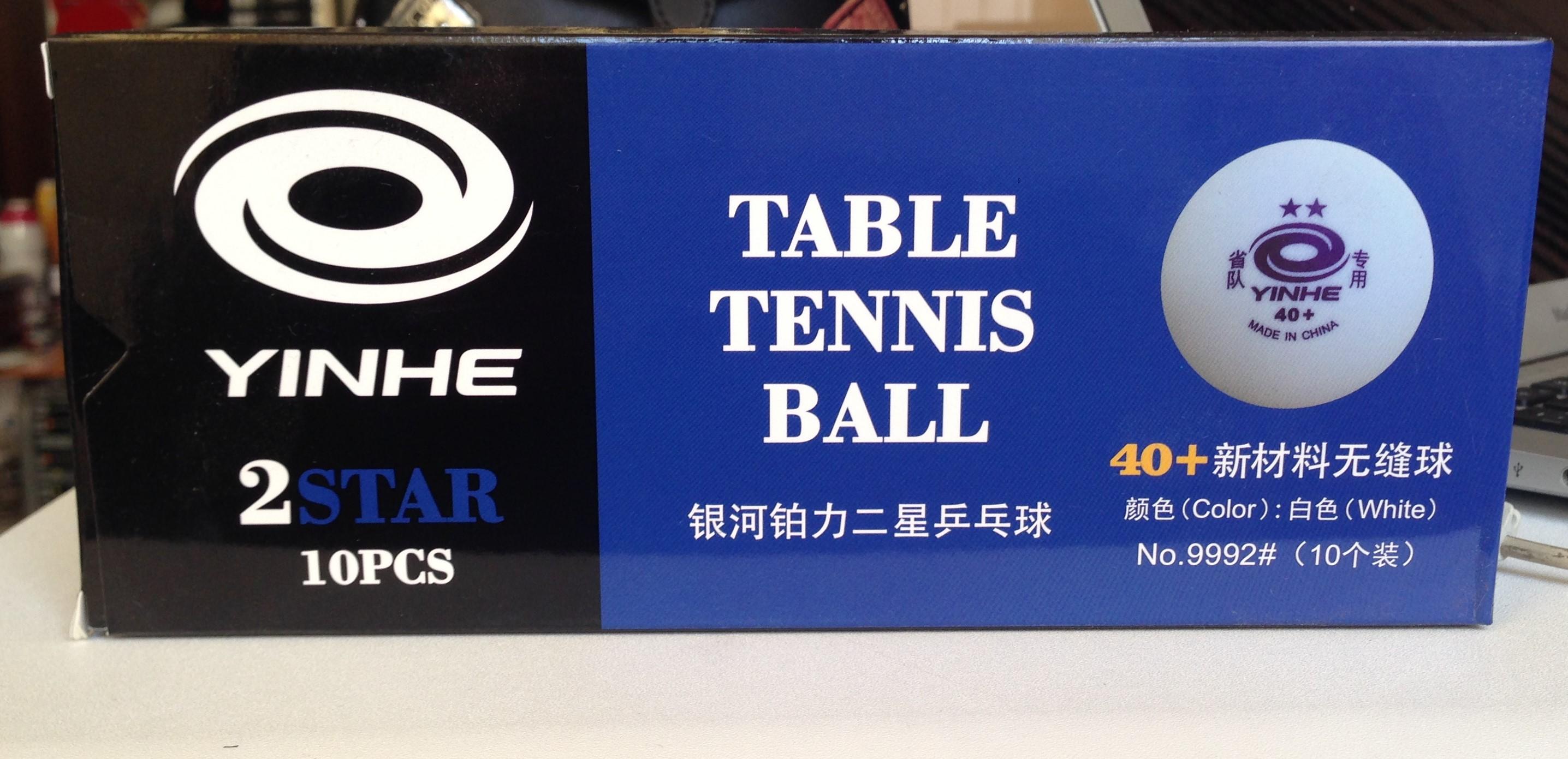 Основные правила выбора мячей для настольного тенниса
