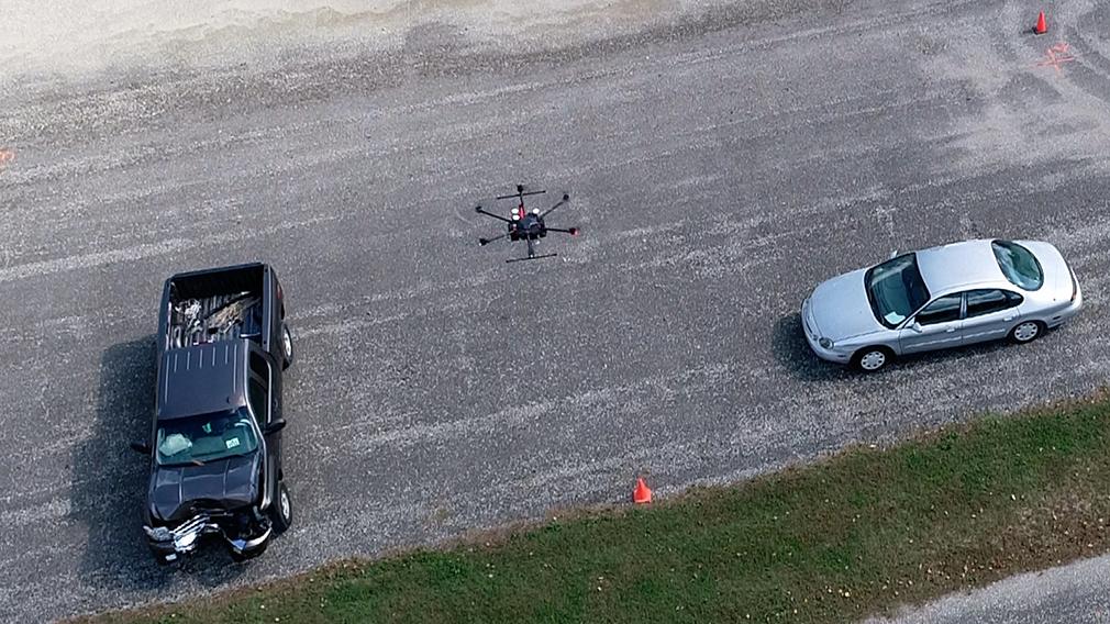В Америке беспилотники научились давать оценку мест дорожных происшествий