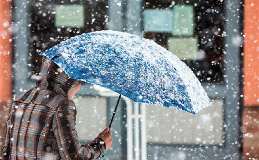 Синоптики не сдаются: мокрый снег еще накроет Киев 12 февраля