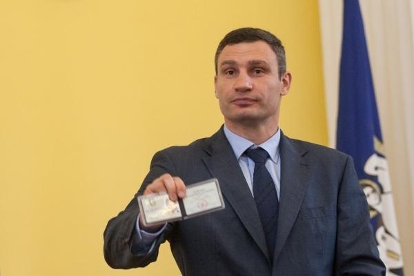 Стало известно, сколько киевлян поддерживает Виталия Кличко