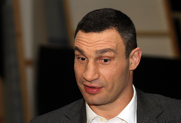 Мэр Киева Виталий Кличко оценил Зеленского как кандидата в президенты