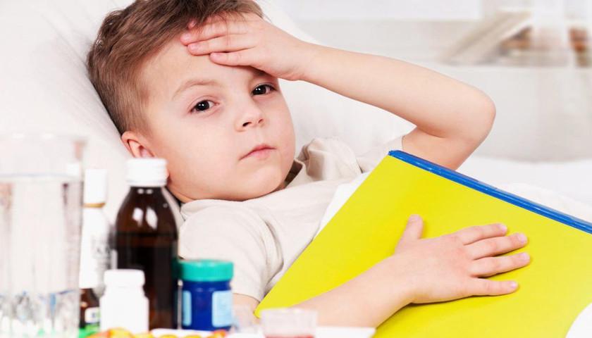 Киевские школьники стали меньше болеть гриппом и ОРВИ