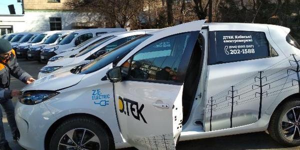 Киевским электрикам выдали про электрокару