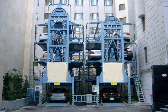 В центре Киева построят механизированные паркинги