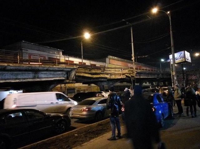 В КГГА назвали новую дату демонтажа Шулявского моста