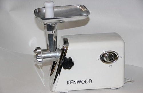 Электромясорубки Kenwood являются залогом надежности и долговечности