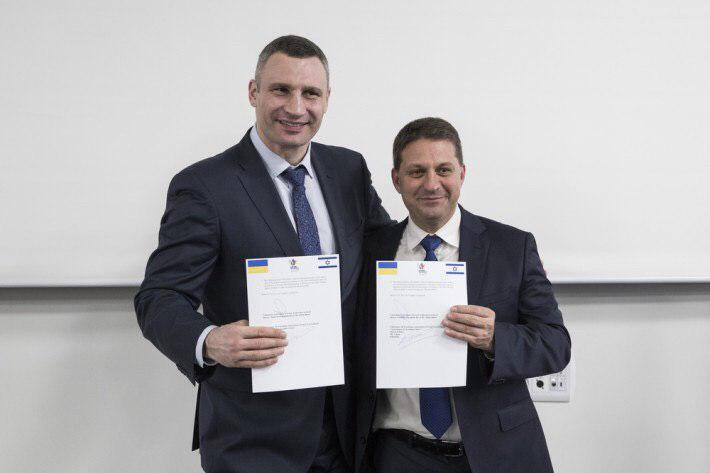 Кличко: В Киеве внедрят новый эффективный израильский сервис для предоставления услуг киевлянам
