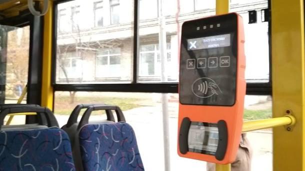 Неисправные валидаторы в транспорте Киева должен чинить перевозчик - КГГА