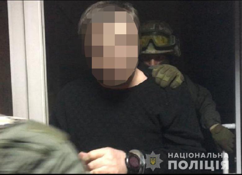На бул. Верховной Рады задержаны криминальные авторитеты