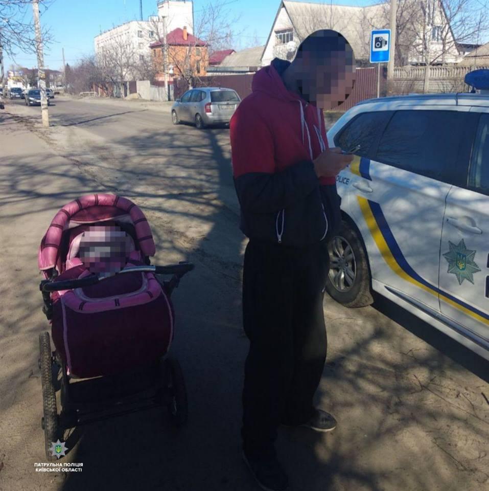 """Под Киевом пьяный отец едва не """"заморозил"""" грудного ребенка"""