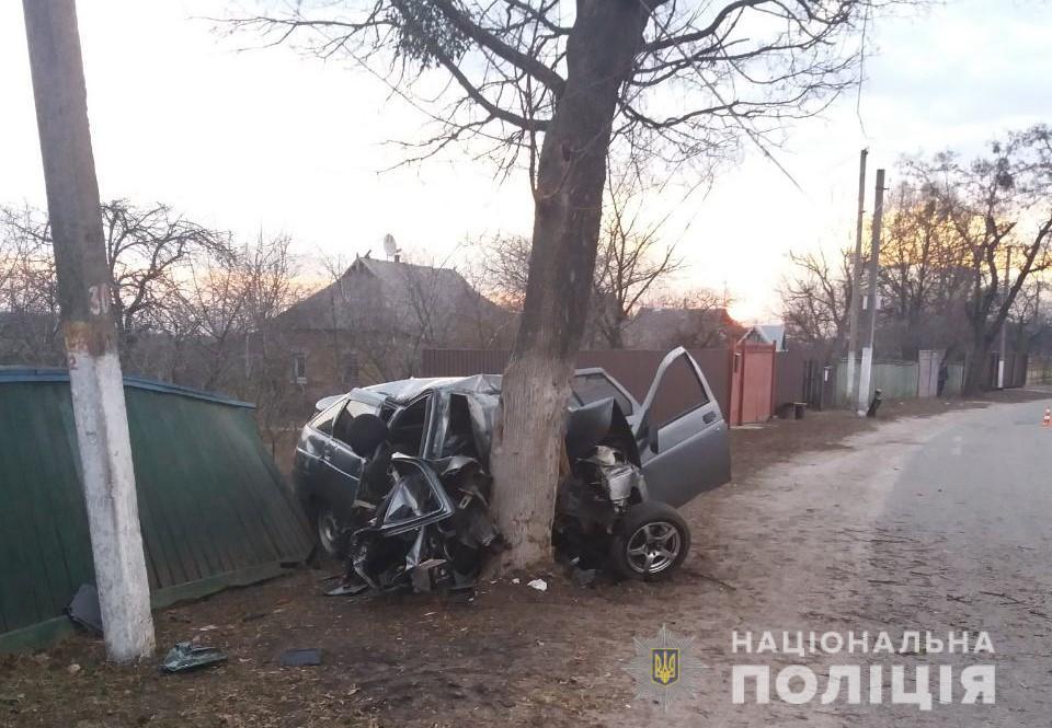 В жуткой аварии под Киевом погибли пятеро молодых ребят