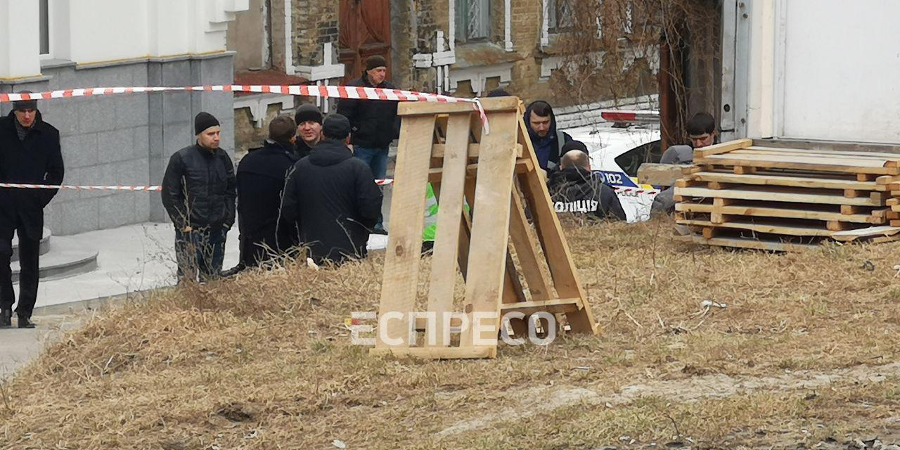 В Киеве погиб работник Администрации президента