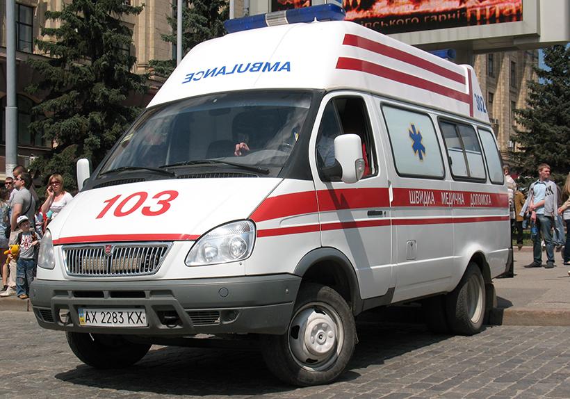 В Киеве мужчина вылил врачу на лицо неизвестное вещество