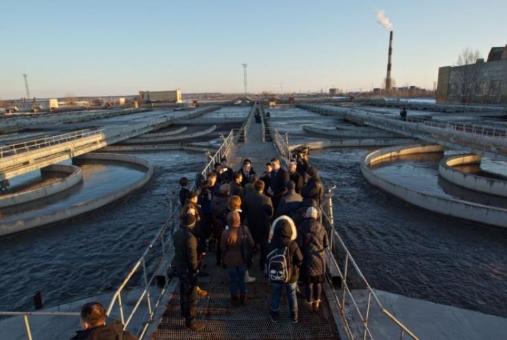 Кличко анонсировал реконструкцию Бортнической станции аэрации