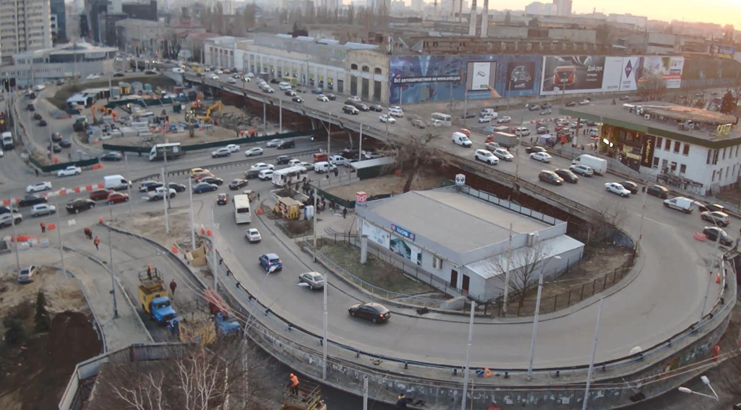 Последние часы: с 16-го марта по Шулявскому мосту нельзя будет ездить