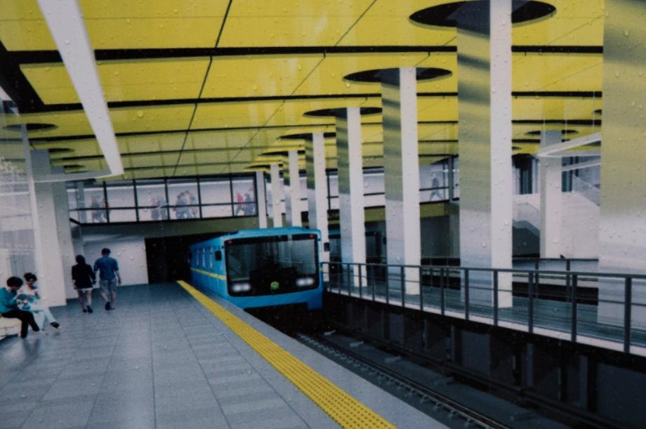 Туннели метро на Виноградарь построят один над одним